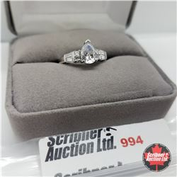 Ring - Size 7: Simulated Diamond - Sterling Silver
