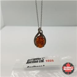 "Necklace - Baltic Amber (18"")"