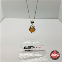 "Necklace - Baltic Amber (20"") - Sterling Silver"