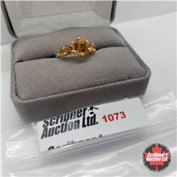 Ring - Size 7: Santa Ana Citrine Sterling - Sterling Silver