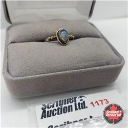 Ring - Size 7: Labradorite - Silver