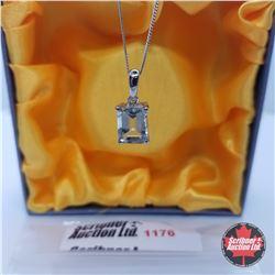 Necklace - Prasiolite - Sterling Silver