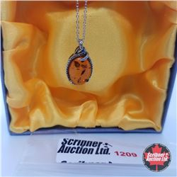 """Necklace - Baltic Amber (18"""") - Sterling Silver"""