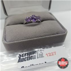 Ring - Size 7: Amethyst - Sterling Silver