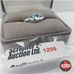 Ring - Size 8: Sky Blue Topaz - Sterling Silver