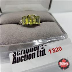 Ring - Size 9: Karki Topaz - Sterling Silver