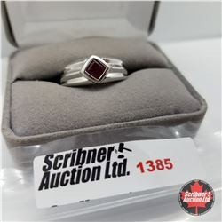 Ring - Size 10: Niassa Ruby - Sterling Silver