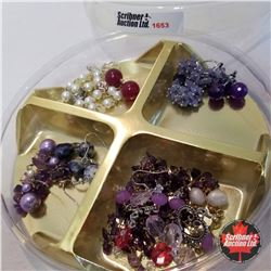 Jewellery Grouping: 8 Paris Earrings