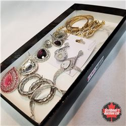 Jewellery Grouping: 10 Pair Earrings
