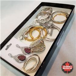 Jewellery Grouping: 11 Pair Earrings