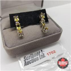 Earrings - Alexite - Sterling Silver
