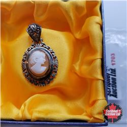 Pendant - Cameo - Stainless