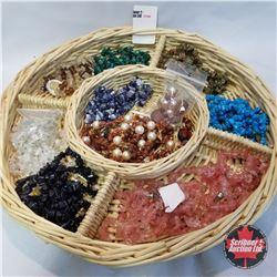 Jewellery Group: 7 Necklaces: 4 Pair Earrings; 4 Bracelets