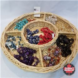Jewellery Group: 7 bracelets; 6 Necklaces; 3 Pair Earrings