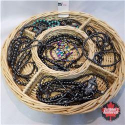Jewellery Group: 14 Hematite Necklaces