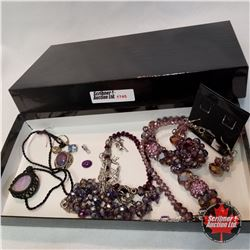 Jewellery Group: 3 Necklaces; 2 Bracelets; 1 Single Earring; 1 Pair Earring; 2 Pendants; 1 Loose Sto