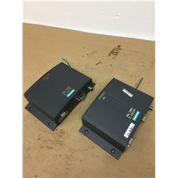 (2) Siemens 6GT2302-2EE00 MOBY E ASM 754 Communication Modules