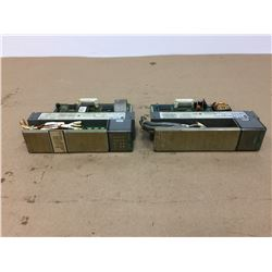 (2) Allen-Bradley SLC 500 Modules *See Pics for Part Numbers*