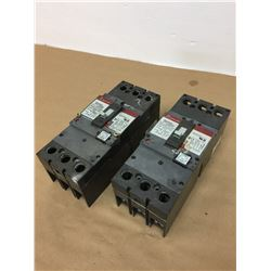 (2) General Electric SFLA36A/0250 MAG-BREAK Circuit Breakers