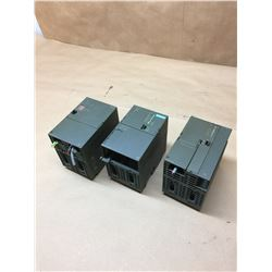 (3) Siemens SIMATIC S7 Modules *See Pics for Part Numbers*