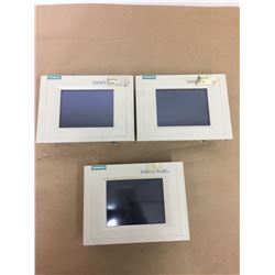 (3) Siemens 1P6AV6 545-0BC15-2AX0 Touch Panel TP 170B Color
