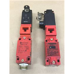 (2) TELEMECANIQUE MISC. LIMIT SWITCH *SEE PICS FOR PART #*