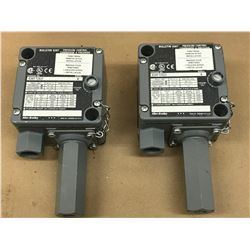(2) ALLEN BRADLEY 836T-T262J PRESSURE CONTROL