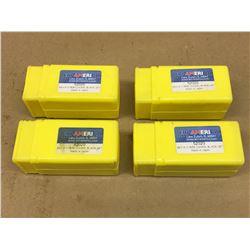 (4) ERI AMERICA 52020 BK110 110 MM BLADE SET