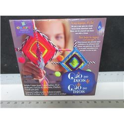New Crafting set / OJO De Dios kit/ South American craft