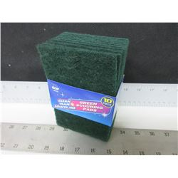 New 10 pack of Scouring Pads