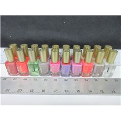 20 New L'Oreal Nail Polish Assorted colors / retail over $100.00