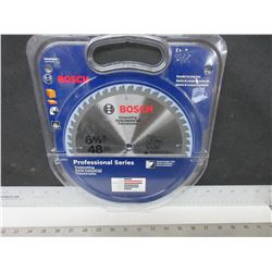 New Bosch Professional Series 48 Carbide tooth Crosscut Blade 8-1/2""
