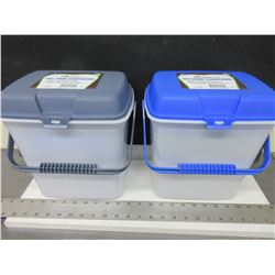 2 New 2 Gallon Pet Food Containers / keeps pests out and food fresh