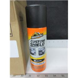 Case of 6 Armor All Custom Shield Spray on Peel Off paint & body protection
