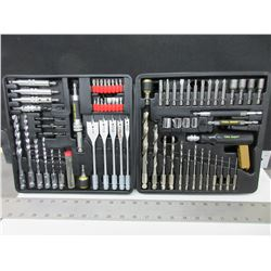 90 Piece Quick Change Drill & Driver Set with case