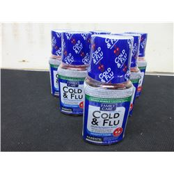 6 Bottles of COLD & FLU 4oz / Cherry