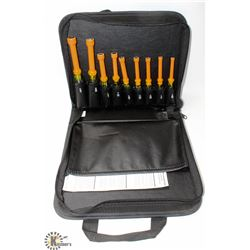 KLEIN TOOLS  9 PIECE INSULATED NUT DRIVER SET