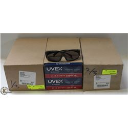 3 BOXES OF UVEX AMBIENT GLASSES