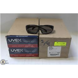 2 BOXES OF UVEX AMBIENT GLASSES