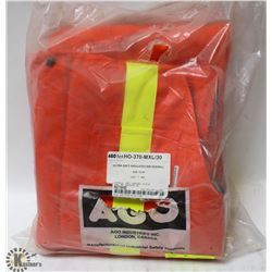 AGO ULTRA SOFT INSULATED BIB OVERALLS SIZE XL/30