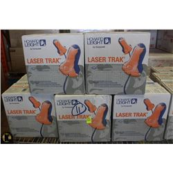 LOT OF 11 CASES OF HOWARD LEIGHT LASER TRAK