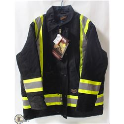 PIONEER HD COTTON QUILTED HI-VIS JACKET SIZE 2XL