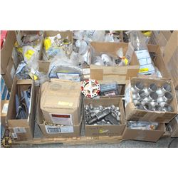 PALLET OF COMMERCIAL & INDUSTRIAL FITTINGS