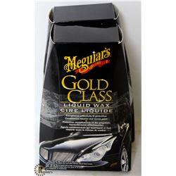 2 BOXES OF MEGUIARS GOLD CLASS LIQUID WAX KIT