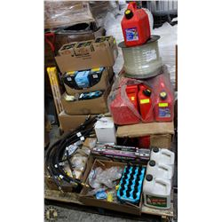 PALLET OF AUTOMOTIVE SUPPLIES & COMMERCIAL GOODS