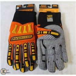2 PAIRS OF XXL IRONCLAD HIGH PERFORMANCE GLOVES