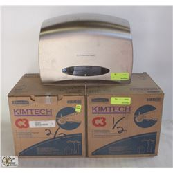 2 BOXES KIMBERLY CLARK KIMTECH AEROSPACE CLEANING