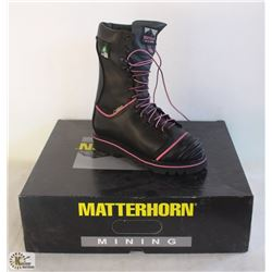 "SZ 6 WOMEN'S MATTERHORN 10"" WATERPROOF INSULATED"