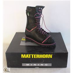 "SZ 6.5 WOMEN'S MATTERHORN 10"" WATERPROOF INSULATED"