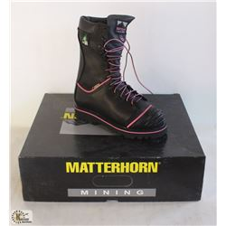 "SZ 5.5 WOMEN'S MATTERHORN 10"" WATERPROOF INSULATED"